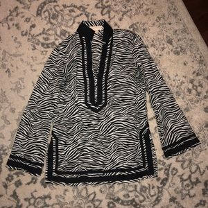 Michael Kors Zebra Tunic Medium